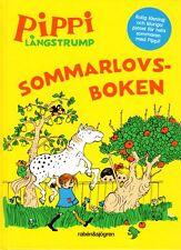 Buch Astrid Lindgren SCHWEDISCH - Sommarlovsboken, Spiele, Rätsel, Geschichten