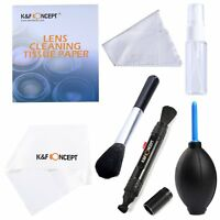 K&F Concept Professional 7 in 1 Camera Lens Cleaning Kit for Canon Nikon Sony