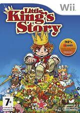 Little Reyes historia para Wii Pal (nuevo Y Sellado)