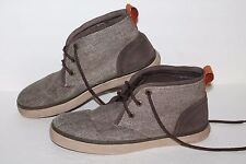 Marc New York Mid Casual Shoes, #NY3047T2152, Brown/Tweed, Leather, Men's US 8