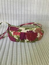 VERA BRADLEY Small Bag Shoulder Purse Mod Floral Pattern Cross Body Hipster