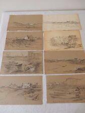 """Tesoro Acuarelas & bocetos """"del norte de Gales""""; X 30 Robert Jones, Arca"""