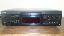 Sony Mds-Ja50Es High-End MiniDisc Recorder with 2 remotes & 15 blank dics
