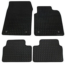 For Vauxhall Vectra MK3 2003-2008 Fully Tailored 4 Piece Rubber Car Mats 4 Clips