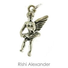 925 Sterling Silver Dance Angel Charm Made in USA