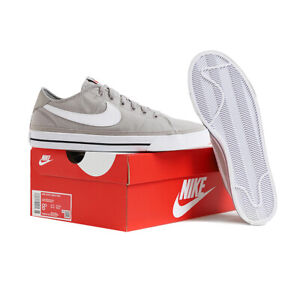 Nike Court Legacy Canvas Men's Sneakers Shoes Casual Gray CW6539-001