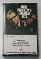 Dave Brubeck Cassette Greatest Hits Columbia Stereo Tape