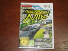 Need for Speed Nitro (Nintendo Wii) - German PAL Version - Game & Box!