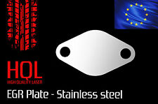 Vauxhall / OPEL Vectra Astra 1.9 CDTi EGR Blanking Plate Stainless Steel SAAB