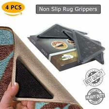 Anti Slip/Curling Rug Carpet Corner Gripper Pad for Tile Floors Kitchen Bathroom