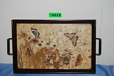 Vintage Butterfly Dried Pressed Flower Tray (#S4015)