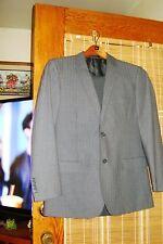 Parc 81 Blazer 40 S/ Bachrach Mens Dark Gray Dress Pants Size 32/30