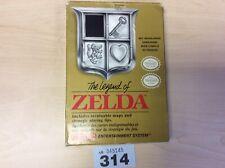 Nintendo Nes The Legend Of Zelda