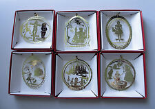 Wizard of Oz Brass Ornament Gift Set of 6