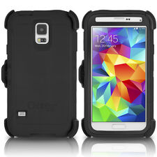 OtterBox Galaxy S5 Defender Case & Holster Belt Clip Black Cover OEM Original