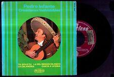 PEDRO INFANTE - SPAIN EP Hispavox 1965 - Tu Solo Tu, Calandria, Carta A Ufemia