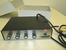 Vintage Bogen Microphone Mixer 4 Channel Mx6A-T Series P-53 Lsi Usa made Audio