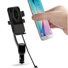 USB KFZ Induktionsladegerät Halterung Zigarettenanzünder Volt für iPhone 8 X S9