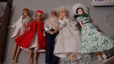 Barbie Ventage - Scarlett O'Hara, Silken Flame - Wedding Dolls Fully Dressed Lot