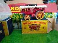VINTAGE LESNEY MATCHBOX Y9 THE FOWLER BIG LION SHOWMAN'S ENGINE SUPERBE  BOITE