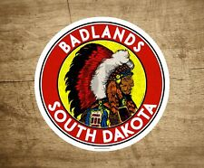"Badlands National Park South Dakota Decal Sticker 3"" x 3"" Vinyl Mountains Hiking"