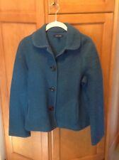 Landsend Teal Petite Wool Sweater - 6P