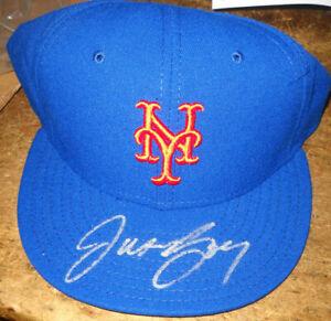 JASON BAY SIGNED NEW ERA PRO MODEL AUTHENTIC METS HAT STEINER MLB FANATICS 7+3/8