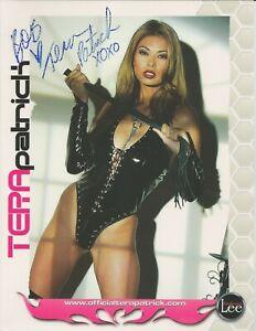 "Tera Patrick Autograph 8""x10"""