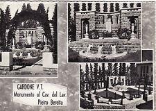 #GARDONE V.T.- MONUM. AL Cav. DEL LAVORO PIETRO BERETTA