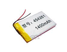 3.7V 1400 mAh 454261 Li-polymer rechargeable Battery Li-Po ion for GPS PSP MP5