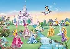 Fototapete Kindertapete PRINCESS CASTLE 368x254 süsse Komar Disney Mädchentapete