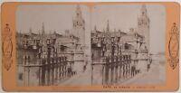 Seville Sevilla Spagna Foto J.Andrieu Radiguet Parigi Stereo Vintage Albumina