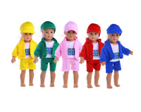 "Latest Handmade Casual four-piece suit Fits 18"" Inch American Girl Doll Clothes"