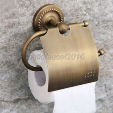 Antique Brass Wall Mounted Bathroom Accessory Toilet Paper Holders lba106