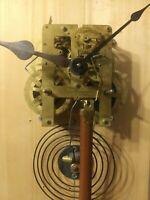 Waterbury Clock Works Mechanism Brass Antique Waterbury Parts or Restoration