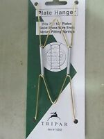 """3 Tripar Plate Hangers 7-10"""" Plates #10202  NEW in package"""