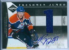 RYAN NUGENT-HOPKINS 2011-12 LIMITED RC ROOKIE JUMBO JERSEY AUTO AUTOGRAPH SP/99