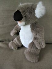 "Pawsenclaws Brand Koala Bear 12"" Tall Plush Stuffed Zipper Back-Brown,White"