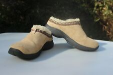 MERRELL PRIMO CHILL SLIDE KIDS YOUTH MOCS SHOES - TAUPE, SIZE 1