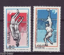 Italien Nr. 1624-25 **  Volleyball WM