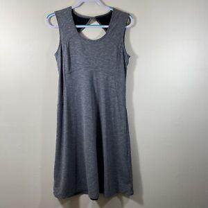 Prana Women's Sleeveless Athletic Dress Gray Size M