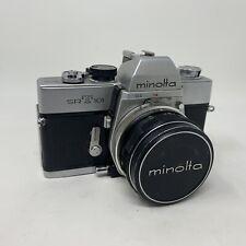 Vintage Minolta SRT 101 35mm SLR Camera & Lens