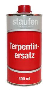 Terpentin Ersatz-Verdünnung 0,5l - Verdünnung, Reiniger, Säuberungsmittel