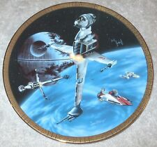 B-Wing Fighter #d Plate Star Wars Space Vehicles Collection Hamilton