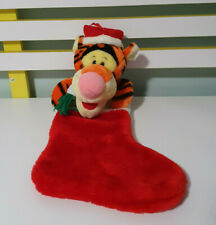 TIGGER CHRISTMAS STOCKING CHARACTER TOY DISNEY WINNIE THE POOH