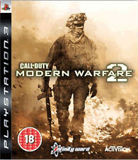 Call of Duty: COD MW Modern Warfare 2 Sony PlayStation PS3 Game Complete Manual