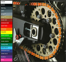 KTM SUPERMOTO 990 LC8 (2006 - 2010) Colour Chain Decals Stickers - sprocket smt