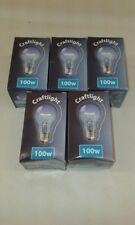 5 x Crompton BLUE CRAFTLIGHT 100W  E27 ES GLS Light Bulb Lamp 240V Quality UK