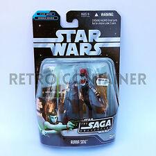 STAR WARS Kenner Hasbro Action Figure - SAGA COLLECTION BLACK - Aurra Sing