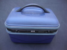 Blue Golden man Luggage Train Case Jewelry tray Combination Lock Light Weight